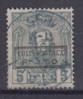 Belgian Congo 1889 COB CP5 Parcel Post, Colis Postaux, Used - Belgisch-Kongo