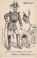 CPA Satirique - Guerre 1914 -1919. Le Lion Turc Transformé En Caniche. (A. Dubray) - Guerre 1914-18
