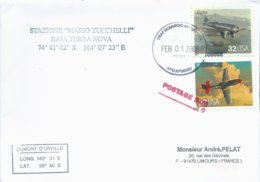 Lettre Avec Cachet USAF McMurdo Antartica Sur Timbres USA N°2610 Et N°2614 - 01/02/2006 - Forschungsprogramme