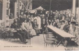 CPA Précurseur Vichy - Souvenir Du Kursaal Et Jardin (très Belle Scène) - Vichy