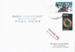 Lettre Avec Cachet USAF McMurdo Antartica Sur Timbres USA N°3050 Et PA N°121 - 01/02/2006 - Forschungsprogramme