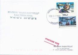 Lettre Avec Cachet USAF McMurdo Antartica Sur Timbres USA N°2748 Et PA N°121 - 01/02/2006 - Forschungsprogramme