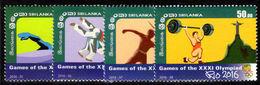 Sri Lanka 2016 Summer Olympics Unmounted Mint. - Sri Lanka (Ceylon) (1948-...)