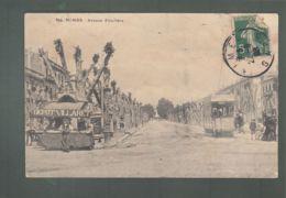 CPA (30) Nimes - Avenue Feuchère - Nîmes