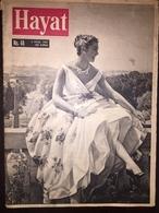 Esther Williams Hayat Turkish Magazine 1957 September - Cinema - Boeken, Tijdschriften, Stripverhalen