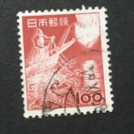 ◆◆◆ Japón 1953   2nd Unit (Without *00*.)   100 Yen  USED   AA5238 - 1926-89 Emperor Hirohito (Showa Era)