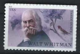 USA. Scott # 5414  MNH. Walt Whitman, Literary Art. 2019 - Estados Unidos