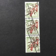 ◆◆◆Japan 1962  Animal,Plant,&National Treasure Series 3rd Unit (Designs Chaged)  6 Yen X3  USED   AA5240 - 1926-89 Emperor Hirohito (Showa Era)