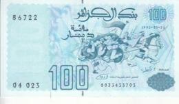 ALGERIA 100 DINARS 1992 P-137 UNC */* - Algeria