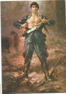 Z5219/22 Vicebrigadiere Dei Carabinieri Salvo D'Acquisto Medaglia D'Oro Al Valor Militare Illustrazione / Non Viaggiata - Characters