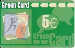 GREECE - Green Prepaid Card 5 Euro(matt Surface), Used - Grèce