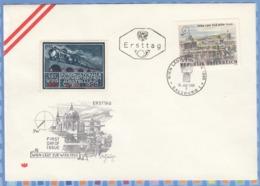 Austria Osterreich FDC - 1965 - WIPA 1933 Trains Bridges - 1961-70 Covers