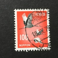 ◆◆◆ Japan 1968  New Animal , Plant, National Treasure Series II  100Yen  USED   AA5262 - 1926-89 Emperor Hirohito (Showa Era)