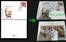 Moldova 2019 Mahatma Gandhi Private FDC Traveling To Your Address - Moldawien (Moldau)