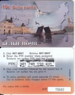GREECE - Russia, Amimex Prepaid Card 10 Euro, Used - Grèce