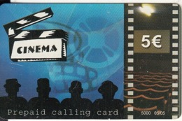 GREECE - Cinema, Amimex Prepaid Card 5 Euro(807 2659), Tirage %5000, 05/05, Used - Grèce