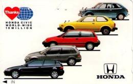 JAPON. COCHES - CARS. HONDA CIVIC Thanks. JP-110-011-car-0959. (080) - Voitures
