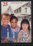 Vanuatu Christmas 25 Fine Used - Vanuatu (1980-...)