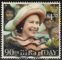 GB 2016 Queen's 90th Birthday £1.52 Type 1 Good/fine Used [40/32891/ND] - 1952-.... (Elizabeth II)