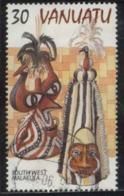 Vanuatu Mask 30 Fine Used - Vanuatu (1980-...)