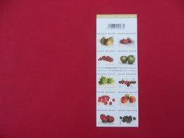 Belgique - Carnet De 10 Timbres Neufs  50gr  - Fruits - Carnets 1953-....