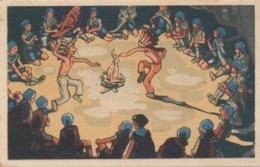 I167 - Scoutisme Eclaireurs Unionistes De France - As Tu Déjà Assisté à Un Feu De Camp? - 1945 - Scoutismo