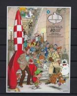 N°BL173ND Tintin (genummerd 357) MNH ** POSTFRIS ZONDER SCHARNIER COB € 150,00 SUPERBE - Belgique
