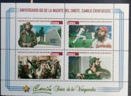 Cuba 2019 60th Anniversary Of Camilo Cienfuegos's Death. Baseball M/S MNH - Cuba