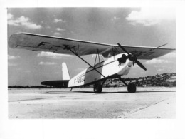 INFORMATIONS AÉRONAUTIQUES PHOTO - BOIVASIA B80 CHABLIS : MONOPLAN ULTRA LÉGER CONÇU PAR LUCIEN TIELES EN 1950 - Aviation