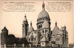 4SKS 641. PARIS - LA BASILIQUE DU SACRE COEUR DE MONTMARTRE - Sacré Coeur