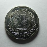 France 2 Francs 1998 Droits De L'Homme - I. 2 Francos