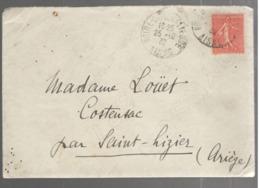 24685 - Du Chateau De MARCHAIS, Propriété Monégasque - Marcophilie (Lettres)