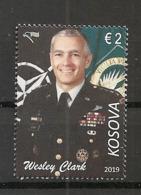 KOSOVO 2019,WESLY CLARK,NATO,USA,,FAMOUS PERSONS,FROM BLOCK MI. 51, MNH - Kosovo