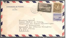 24690 - Entête AMBASSADE DE FRANCE - Cuba