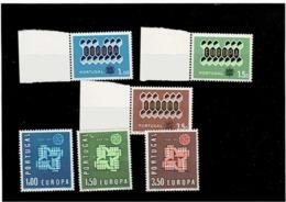 TEMATICA-EUROPA CEPT ,Portogallo ,2 Serie Complete Nuove MNH ,qualita Splendida - Europa-CEPT