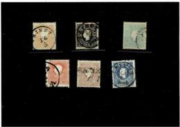 Austria ,serie Completa Usata ,il Nr.11a Di Colore Arancio ,qualita Splendida - 1850-1918 Imperium