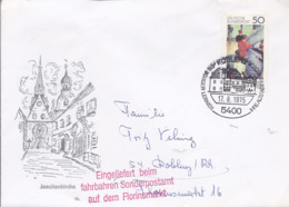 AK-div.32- 600175 -  Koblenz Jesuitenkirche - Gelaufen 17.8.1975 - Posta Privata & Locale