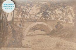 38 - Très Belle Carte Postale Ancienne Photo  De  Les Roches   Le Pont Rouge - Other Municipalities