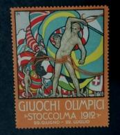 STOCKHOLM  1912     SVERIGE SUEDE OLYMPIC GAMES  ERINNOPHILIE  CHIUDILETTERA   Envelope - Sommer 1912: Stockholm