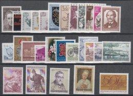1971**  Oostenrijk - Autriche - Austria  (sans Charn., MNH, Postfrish) Complete ) Mi1353/1380 (28v) - Österreich