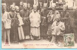 Asie> Viêt-Nam :  Tonkin  Hanoï  Notables En Prière  Réf 7509 - Viêt-Nam