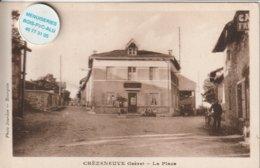 38 - Très Belle Carte Postale Ancienne  De   Chèzeneuve  La Poste - Other Municipalities