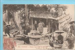 Asie> Viêt-Nam :  Tonkin  Hanoï Un Coin Du Marché  Réf 7510 - Vietnam