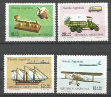 Argentina - 1977 Communications  MNH **   Sc B69-72 - Ungebraucht