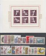1972**  Oostenrijk - Autriche - Austria  (sans Charn., MNH, Postfrish) Complete ) Mi1381/1409 (29v) - Österreich