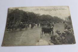 Paris Avenue Du Bois De Boulogne Le Presidentde La Republique Se Rendant Aux Courses A Longchamps En L Etat 1909 - Otros