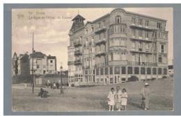 """JM16.11 / CPA /   DE PANNE - """" LA DIGUE ET L HOTEL DU KURSAAL """".... - De Panne"""