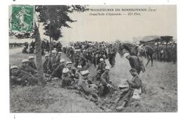 GRANDES MANOEUVRES DU BOURBONNAIS - Guerra 1914-18