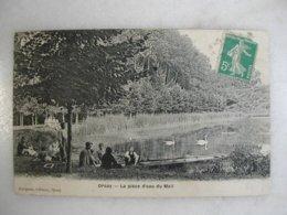 ORSAY - La Pièce D'eau Du Mail (animée) - Orsay
