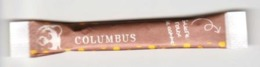 "Sachet Stick Sucre "" COLUMBUS "" (S233) _Di375 - Sucres"